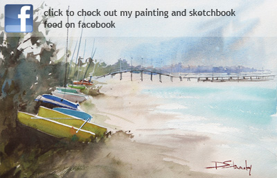 Check out my painting and sketchbook feed on facebook