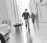 Urban Scene Storyboards