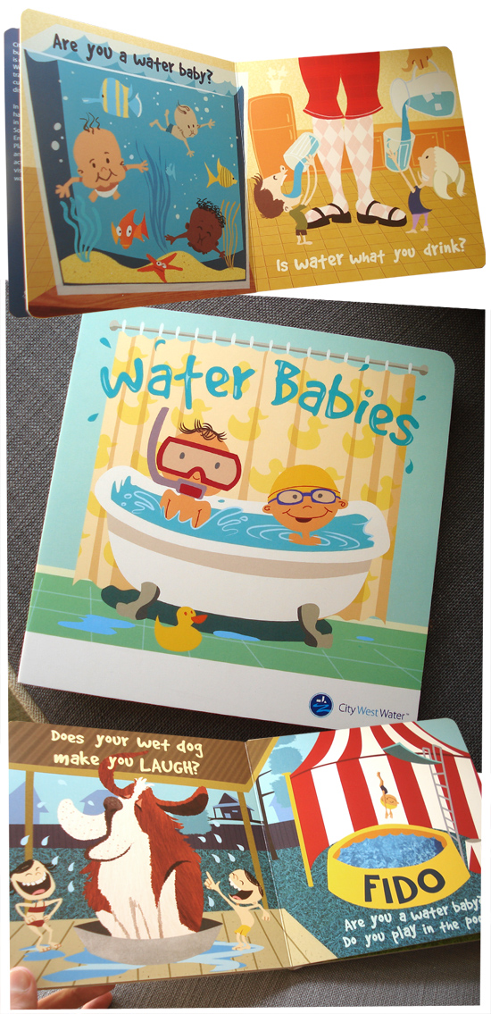 Water Babies picture book