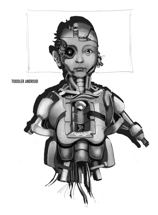 Toddler Concept Art